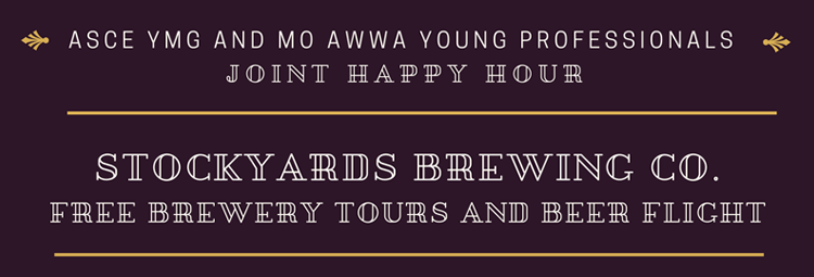 ASCE YMG & MO-AWWA YP Joint Happy Hour